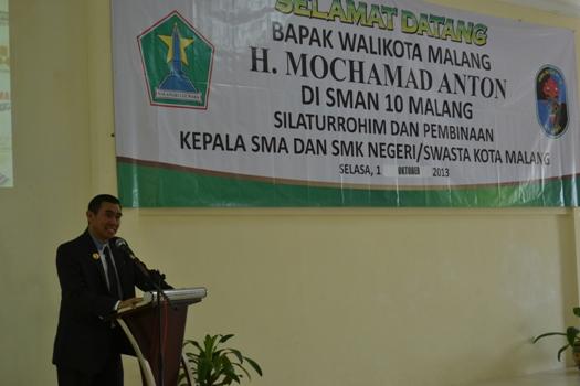 Sambutan-Walikota-Malang-Abah-Anton-di-Pembinaan-Seluruh-Kepala-Sekolah