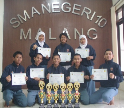 Tim-Karate-SMAN-10-Malang