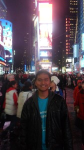 I am at the Times Square