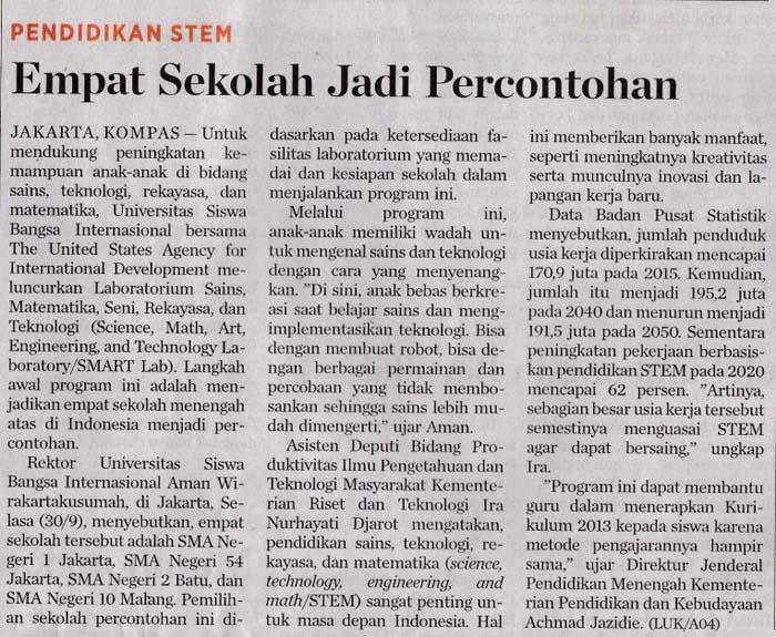 Kompas-Rabu-1-Oktober-2014-STEM-SMAN-10-Malang