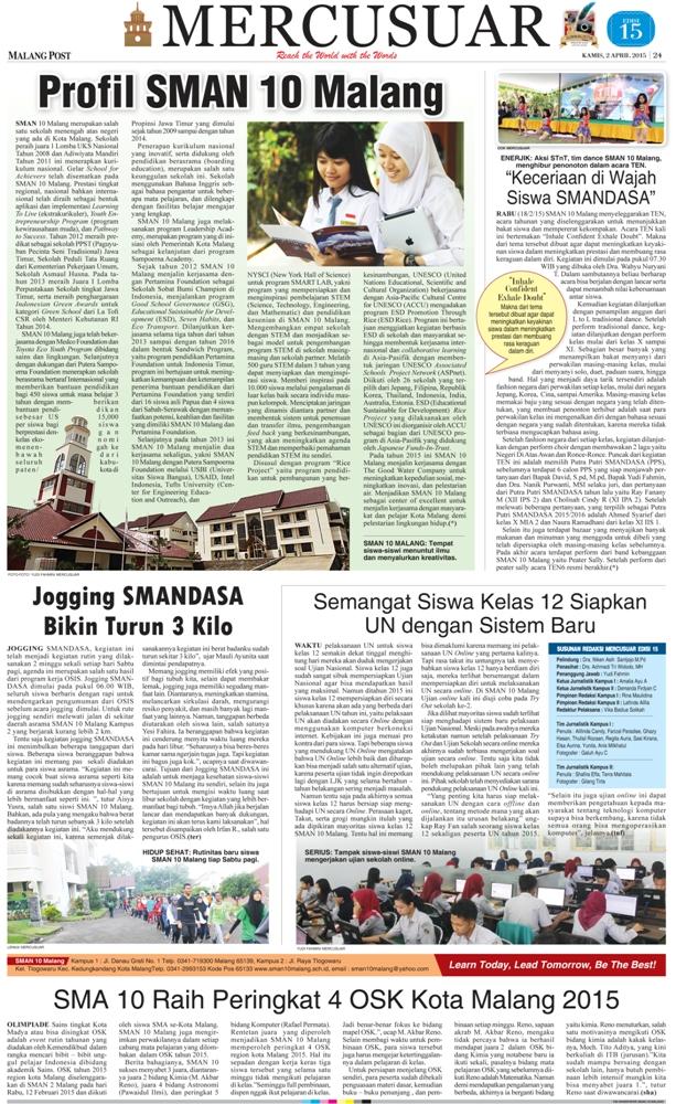 Koran Mercusuar Edisi ke 15