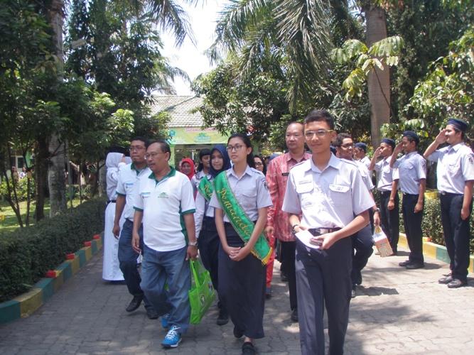 Penilaian Green School Festival 2015