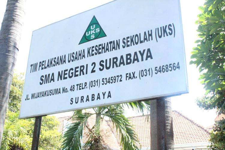 Kunjungan Studi Banding ke SMAN 2 Surabaya