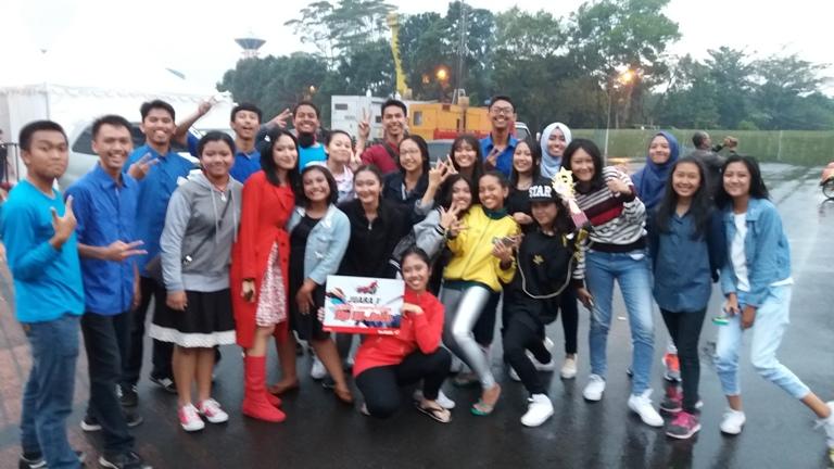 Tim SMAN 10 Malang - Juara 1 School Competition