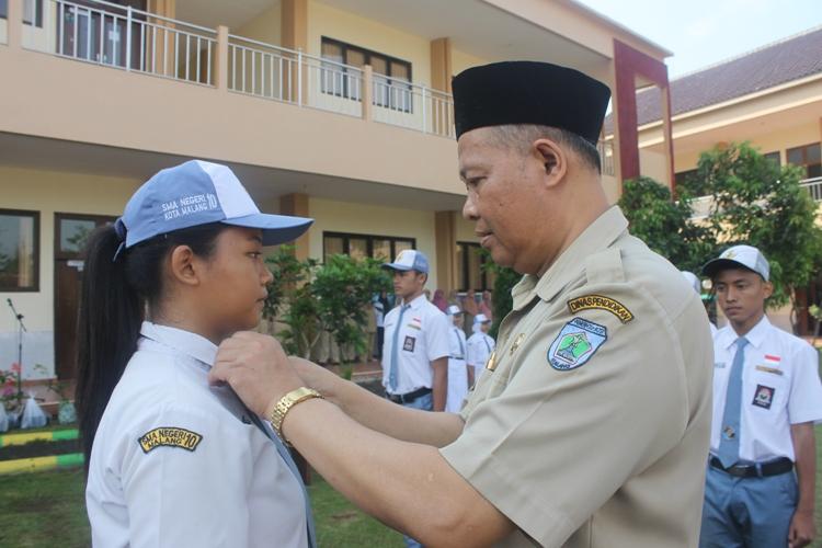 Penyematan Ketua MPK