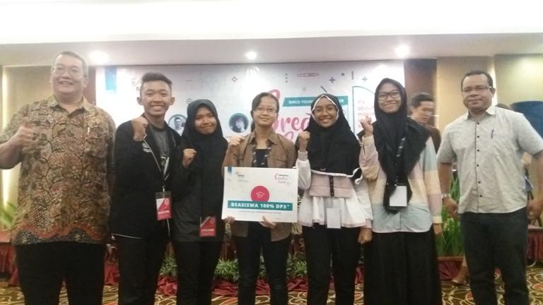Giani & Team, Juara 1 Creative Camp 2017