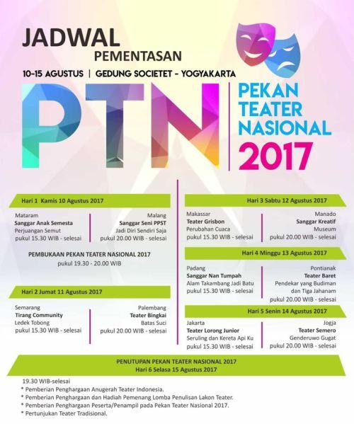 Pekan Teater Nasional 2017