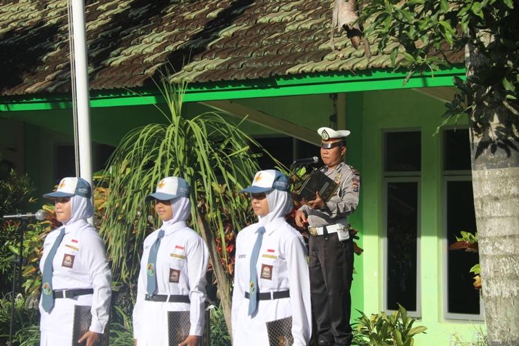 Sambutan Kasatlantas Polres Malang Kota
