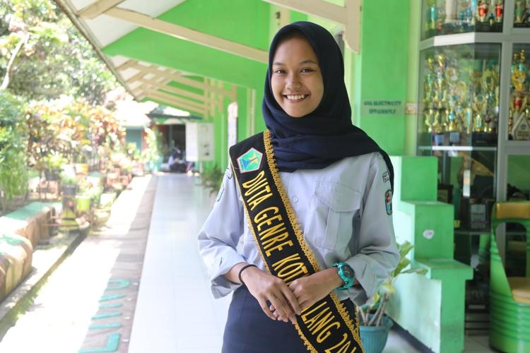 Amanda - Juara Harapan 2 Duta GenRe Kota Malang