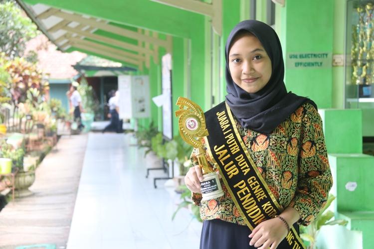 Nasywa - Juara 1 Duta GenRe Kota Malang